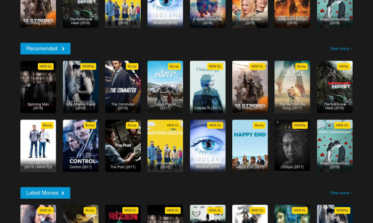 Jual Website Streaming & Download Film